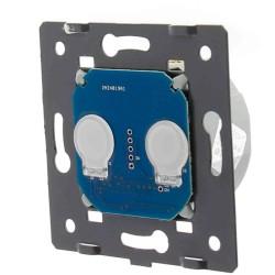 Moduł podwójny Livolo włącznika dotykowego sterowany przez WiFi (ZigBee) (Wymaga żyły N)
