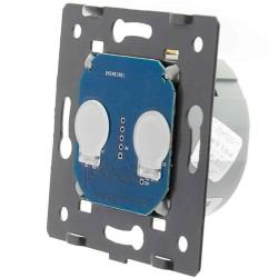 Moduł podwójny Livolo włącznika dotykowego sterowany na pilota (Wymaga żyły N)